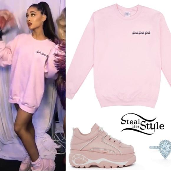 Shoes Ariana Grande 7 Rings Platform Chunky Sneakers